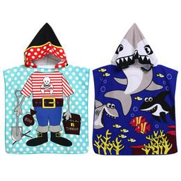 recém-nascido orgânico Desconto Produtos de banho de chuveiro s crianças dos desenhos animados toalha de banho bebê meninos meninas com capuz toalha de praia crianças com capuz toalha de natação manto de natação