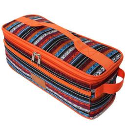 sacos de faca para Desconto National Home Style Outdoor Camping Tabela Ware Organizador Jantar Colher Garfo Faca saco de armazenamento portátil Louça Camping Organizi