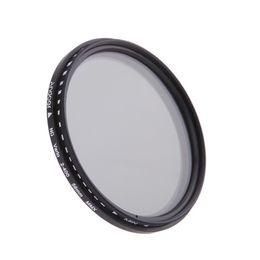 58mm ND Filtre Nötr Yoğunluk Filtreleri ND2 ND4 ND8 ND400 Lens Canon Nikon DSLR Kamera için Değişken ND Fader cheap neutral density filters nereden nötr yoğunluk filtreleri tedarikçiler