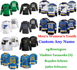 Stelle st online-S-6XL 2020 All-Star Game St Louis Blues Hockey maglie Alexander Steen Jersey Oskar Sundqvist Robert Thomas Bortuzzo personalizzato cucito Mens
