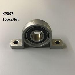 10pcs / lot KP007 supporto in lega di zinco del cuscinetto del cuscinetto del blocchetto del supporto della lega di zinco 35 da blocchi di rulli fornitori