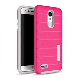 Argentina 2 en 1 Funda para teléfono TPU PC Protect Cover para iphone xs max x xr para Samsung s10 10colors lg stylo4 / puls 360 protect Suministro
