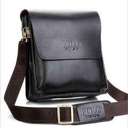 attraversare tracolla Sconti Mens Leather Shoulder Messenger Bag Borse Small One Cross Over corpo laterale Borsa Vertical Business Borse Borse in pelle