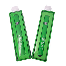 melhor bateria usb Desconto Melhor Qualidade Ecig Smart Battery 510 Tópico bateria Vape Baterias 350mAh para Cartucho de óleo SmartCart com carregador USB