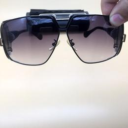 Envolver alrededor de marcos online-Envuelva alrededor de gafas de sol Gafas redondas de metal Marco grande Ciclismo Gafas Gafas para hombre Marca de moda Nueva motocicleta Sombras Gafas de sol