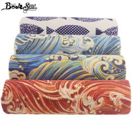 спандекс павлина Скидка Booksew хлопок льняная ткань Анкара метр печатные волны Telas Африканская ткань ткань шитье DIY занавес 4 шт. / лот 45x45 см текстиль