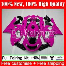розовая ямаха Скидка Кузов для YAMAHA Thundercat YZF600R 02 03 04 05 06 07 86MT36 YZF 600R глянцевый розовый YZF-600R 2002 2003 2004 2005 2006 2007 обтекатель кузова
