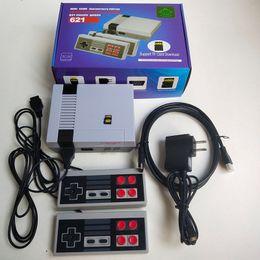 Consola de jogos hd on-line-Venda quente Nova atualização NES 621 HD TV consola de jogos HDMI com jogo de cartão TF não repete clássico nostálgico mini