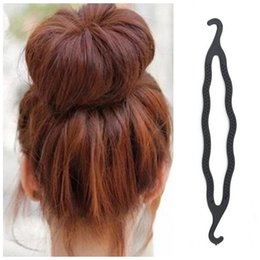 Pinza de pelo bollo mágico online-Barrette Braider Mujer Lady Magic Hair Twist Styling Clip Stick Braid Bun Maker Herramienta Banda para el Cabello Accesorios