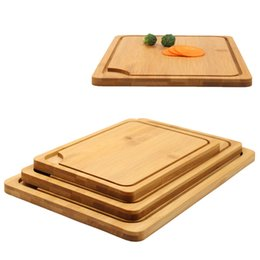 cutting bread Coupons - Multifunction Bamboo Chopping Blocks Cut Bread Dessert Steak Chopping Plate Japanese Kitchen Antibacterial Cutting Board DH1296 T03