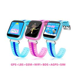 Canada Smartwatch WIFI appel téléphonique GPS GSM LBS BDS AGPS SOS SIM russe anglais jouets éducatifs podomètre enfants moniteur montre cheap educational children s toys Offre