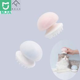 Deutschland Xiaomi Mijia Furrytail Jellyfish Pet Massagegerät Comb Negative Ion Antistatisch für Katzenhaar sauberes Haustier Grooming Massagegerät Comb Versorgung