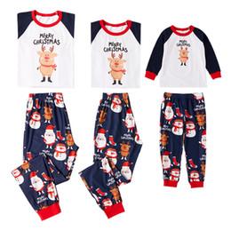 4ecbbca717 Conjunto de pijamas de juego familiar Conjunto de pijamas de juego familiar  de Navidad Nueva llegada Adulto de Navidad Mujeres Hombres Ropa de dormir  Ropa ...
