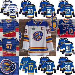 2019 tarasenko jerseys St. Louis Blues 90 2019 Campeões David Perron Binnington Ryan O'Reilly Tarasenko Alex Pietrangelo Brayden Schenn Jaden Schwartz Jersey desconto tarasenko jerseys