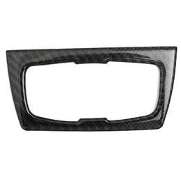 Interruptor de faro bmw online-Para BMW Serie 3 GT / 4 Serie F30 32 33 80 83 Tablero de instrumentos de fibra de carbono Interruptor de faro negro Recortar las mejoras interiores con cinta