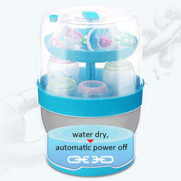 Máquinas de alimentación online-Biberón de alimentación Bote de esterilización Bote de cocina de vapor de acero inoxidable Gabinete de esterilización Máquina para bebés