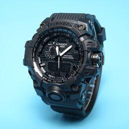 Nuevos relojes de color online-Nuevo Color G110 hombres Reloj deportivo de lujo Relojes LED Auto Light shocked G style reloj de pulsera Moda Mujer Vestido relojes Caja Original