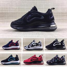 Zapatillas de chicas grandes online-Nike air max 720 Hyper space Niños Zapatillas de running Clay Kanye West Zapatillas de deporte de moda para niños pequeños grandes niña niño Zapatillas para niños
