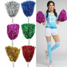 Venta caliente de las muchachas de la animadora Pom Poms Cheerleading Cheer Dance Party Club de decoración DIY Evento desde fabricantes