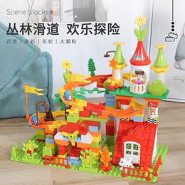 2020 brinquedos para 13 anos meninos Childrens grande grânulo tabela de bloco de construção de montagem de bebê Menino do brinquedo quebra-cabeça menina de 13 inteligência 2 desenvolvimento 456 anos brinquedos para 13 anos meninos barato