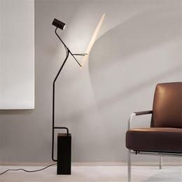 2020 decoração piso lâmpadas Lâmpadas de assoalho modernos para a vida Estudo Sala de jantar Loft Decor estilo japonês Estudo Floor Lamp Quarto Cafe Lamp Floor Standing desconto decoração piso lâmpadas