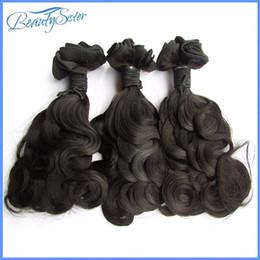 Бразильское очищение волос онлайн-Распродажа двойной оттянутой бразильской девственницы волосы объемная волна 3 шт.