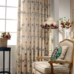 piuma di pavone giallo Sconti Moderna semplice tonalità con tende ad alta tonalità per soggiorno sala da pranzo camera da letto.