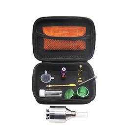 sigelei cassa in silicone da 75 watt Sconti Nuovo kit di sigarette multi-funzione in pelle sacchetto di tabacco sacchetto fumo kit di strumenti tubo Formax 420 Kit Smoker Set Grinder