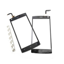 2019 мобильные телефоны doogee 10pcs/lot New Touch screen Panel Display Mobile Phone Front Glass Compatible For Doogee X5 Max \ X5 Max Pro скидка мобильные телефоны doogee