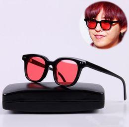 Deutschland V Marke Square Frame GM Südseite Sonnenbrillen Mode Weibliche Blaue Nacht Brille Korea Sanfte Männer Frauen Sonnenbrille oculo feminino cheap frame korea Versorgung