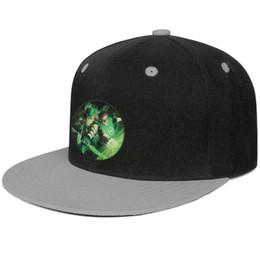 costume costume lanterna verde Desconto Green Arrow e Lanterna Verde Cinza mens e mulheres hip-hop plana brim cap legal designer de golfe esportes equipado costume elegante original borda plana h