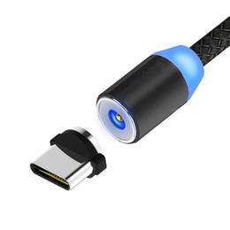 Iphone c mobile онлайн-Магнитный кабель плетеный Micro USB Type C LED Магнит зарядное устройство кабель для iPhone X Samsung Xiaomi 1m быстрая зарядка мобильных телефонов кабели