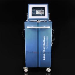 cavitação quente emagrecimento máquina Desconto Venda quente Salão de Beleza 40 K Pele Aperto Corpo Shaping Emagrecimento Sistema de Cavitação A Vácuo Terapia Máquina de Beleza