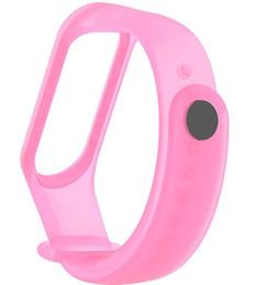 Pulsera transparente para Xiaomi Mi Band 3 Correa deportiva reloj Correa de muñeca de silicona Para xiaomi mi banda 3 accesorios pulsera Miband3 StrapLLFA desde fabricantes
