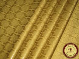 Deutschland Qualität Jacquard Damast Bronze Farbe Bazin Riche Guinea Brocade Afrikanisches Kleidungsstück Baumwollgewebe Afrikanisches Kleidungsstück 100% Baumwolle von Fabrikanten