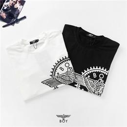 projeto engrenagem ao ar livre Desconto 19ss design de marca de luxo POR engrenagem Águia impressão logotipo T-shirt Das Mulheres Dos Homens Breatheable Moda Streetwear Camisolas Ao Ar Livre