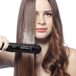 2019 пар c rofessional Керамический Vapor Steam Выпрямитель для волос Парикмахерская Steam Styler Инструмент для укладки волос Салон для личного пользования скидка пар c