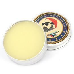 Hombres Barba Orgánica Aceite Bálsamo Bigote Estilo Cera Cera de abejas Hidratante Suavizante Gentlemen Barba Care Natural Beard Balm desde fabricantes