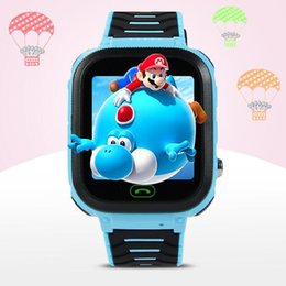 2019 gps para crianças Q100 GPS Relógios Inteligentes Bebê Kid Watch com WIFI 1.54 polegadas Tela Sensível Ao Toque de Chamada SOS Dispositivo Localizador Rastreador Kid Seguro PK qq528 Q50 Q11 40 pcs gps para crianças barato