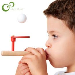 2019 material de juguetes de espuma Espuma Montessori Materiales Bebé Juguetes de madera Schylling Blow Hobbies Deportes al aire libre Juguete de espuma Bola flotante YYY S5 material de juguetes de espuma baratos