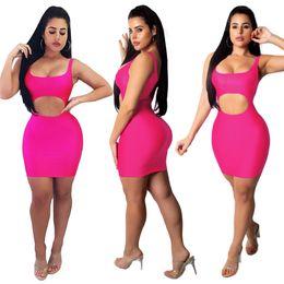 Тощие бедра minis онлайн-Женщины Сексуальный Вечерний Клуб Выдалбливают Bodycon Платья Мода Slim Fit Тощий Мини-Платье Hip Up Party Формальная Одежда