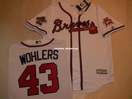marchio jersey Sconti Cheap personalizzata 1995 MARK WOHLERS Baseball JERSEY BIANCO cucita Personalizza qualsiasi numero nome MEN WOMEN BASEBALL JERSEY