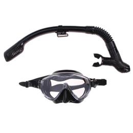 tubo de respiração de máscara de natação Desconto Máscara De Mergulho De Silicone Anti-Fog Óculos De Proteção Óculos + Snorkel Conjunto Tubo De Respiração Piscina De Natação Equipamentos de Pesca