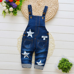 e232c9be15e5 good quality 2019 baby boys pants denim overalls for girls spring autumn jeans  infant toddler new bib boys casual jumpsuit pants
