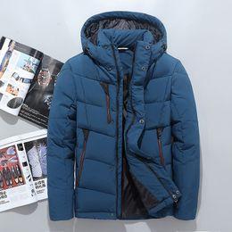 bbbc8a054d 2019 Men Winter Jackets north Coats Warm Down Jacket Outdoor Hooded Men s  face down Parkas 201701