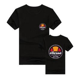 Deutschland Mens-Frauent-shirt Ellesse Baumwollkurzschluss-Hülsen beiläufige männliche T-Shirt Wunder-Shirtmänner übersteigt T-Stücke Freies Verschiffen Versorgung