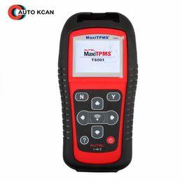 100% original AUTEL MaxiTPMS TS501 herramienta de servicio de diagnóstico TPMS activar sensores OEM / Universal TPMS + reprogramar ECU del vehículo desde fabricantes