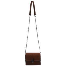 Мобильные телефоны онлайн-Маленькие сумки через плечо для мобильного телефона Кошелек для кошелька Легкая сумка на плечо для женщин (коричневый)