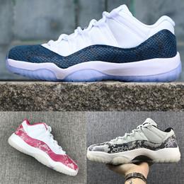 Pink Snakeskin 11 Basketballschuhe Damen Platinum Tint Sport 11s Athletic Herren Navy Blue Sneakers Bred Light Bone Designerschuhe ERU 36-47 von Fabrikanten