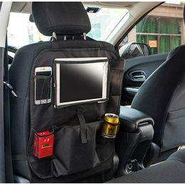 saco organizador do assento de carro Desconto Auto Car Seat Back Multi-Bolso De Armazenamento Cabide Organizador Saco Titular Acessório